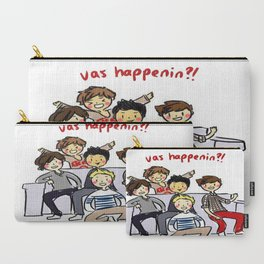 One Direction 'Vas Happenin' Cartoon Carry-All Pouch