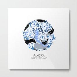 American Cats - Alaska Metal Print