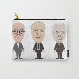 The Godfathers of Modern Architecture Carry-All Pouch