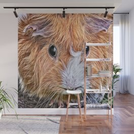 Painted Guinea Pig 5 Wall Mural