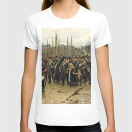 Isaac Lazarus Israels - Transport Of Colonial Soldiers - Digital Remastered Edition T-shirt