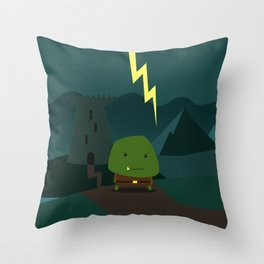Glooming Ork Throw Pillow