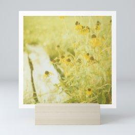 summer flowers Mini Art Print
