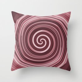 It's a chocolate whirl Throw Pillow
