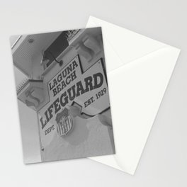 Lifeguard Station Stationery Cards