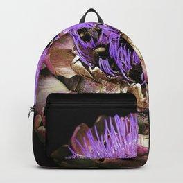 Bee Party on Artichoke Backpack