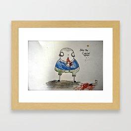 john the cannibal Framed Art Print