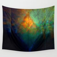 fringe Wall Tapestries featuring Fringe Theory by Susan Butler