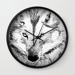An inquisitive look  Wall Clock