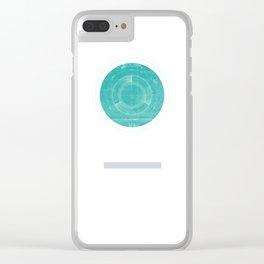 Uranus I Clear iPhone Case