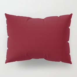 Rosewood - solid color Pillow Sham