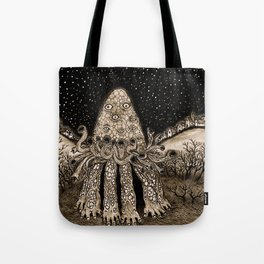 The Horror from Dunwich Tote Bag