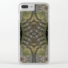 Manifold Mandala Grotesque #3 Clear iPhone Case