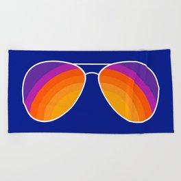 Rainbow Shades Beach Towel