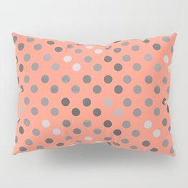 Polka Proton Pink Pillow Sham