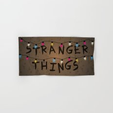 Stranger things Hand & Bath Towel
