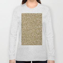 Glitter - Gold 1. Long Sleeve T-shirt