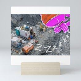 Nap Zone Mini Art Print