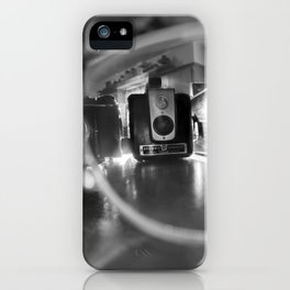 Cameras Through an Eyeglass (3 of 3) iPhone Case