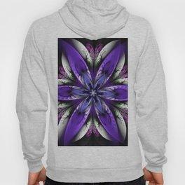 Exotic fantasy flower Hoody