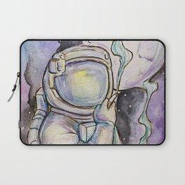 """Space Kills""   Funny WaterColor Illustration Laptop Sleeve"