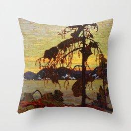 Tom Thomson - The Jack Pine Throw Pillow