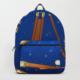 Pug. Astronomer. Pugileo Pugilei Backpack
