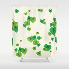 Pond of Harts Shower Curtain