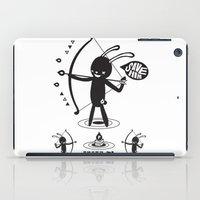 anaconda iPad Cases featuring SORRY I MUST LIVE - DUEL 2 VER B ULTIMATE WEAPON ARROW  by PAUL PiERROt