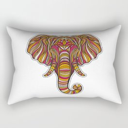 Ethnic elephant Rectangular Pillow