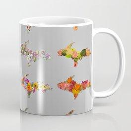 Upper Peninsula Seasonal Outlines Coffee Mug