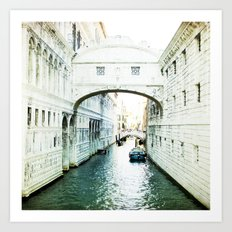 The Bridge of Sighs - Venice Art Print