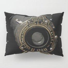VINTAGE AUTOGRAPHIC BROWNIE FOLDING CAMERA Pillow Sham