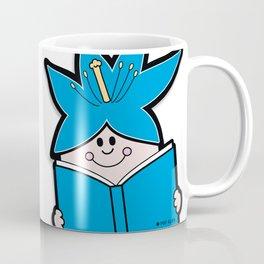 Reading Rainbow in Harmony - Blue Coffee Mug