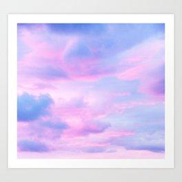 Clouds Series 4 Art Print