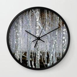 Winter Trees | Forest | Woods | Fantasy | Nadia Bonello | Canada Wall Clock