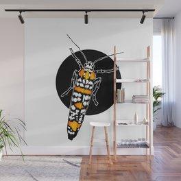 Ailanthus Webworm Moth (Atteva punctella)   BUGSPOTTING SERIES Wall Mural