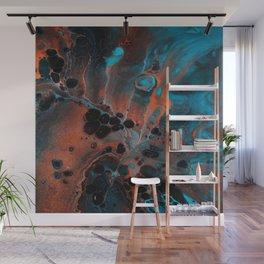 Copper Ocean Wall Mural