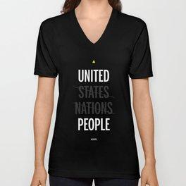 UP - United People Unisex V-Neck