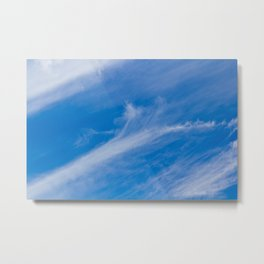 Cirrus Clouds Metal Print