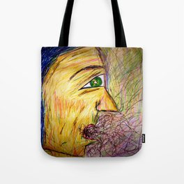 A Hawk in The Jar. Tote Bag