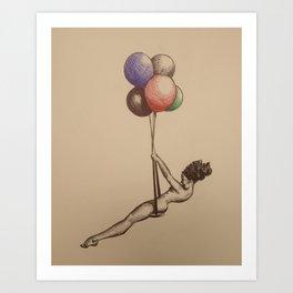 freedom swing Art Print
