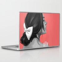 pocahontas Laptop & iPad Skins featuring Pocahontas by kevinci