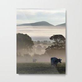 Morning Milk Run Metal Print