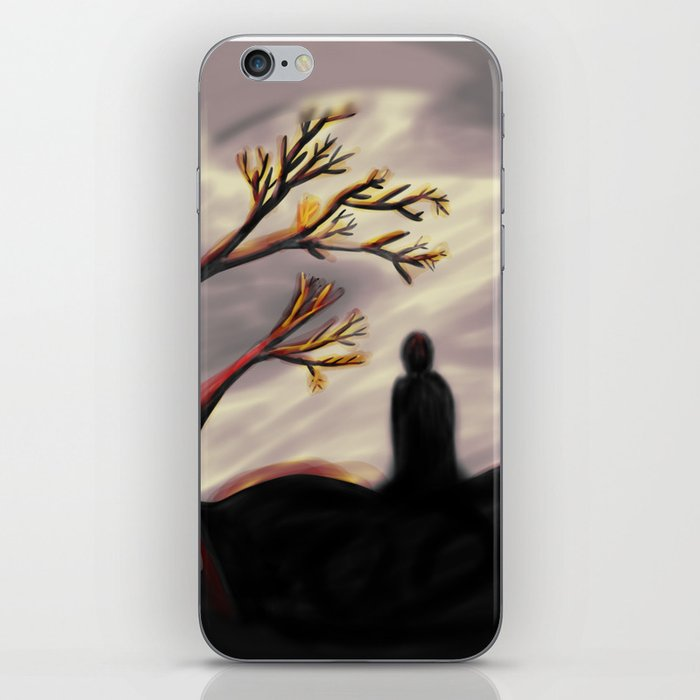Dark Forest Scene iPhone Skin