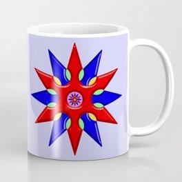 Shuriken Lotus Flower Coffee Mug
