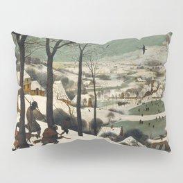 Pieter Bruegel The Elder - Hunters In The Snow, Winter Pillow Sham