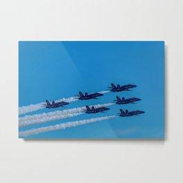 The Blue Angels Metal Print