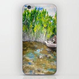 Florida Mangrove Tea Water in the Everglades iPhone Skin
