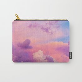 Pink Purple Clouds Carry-All Pouch